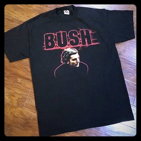 aed777afbab9 Alstyle Shirts | 90s Vintage Band Tee Bush Gavin Rossdale Adult Lg ...